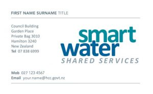 Smart Water Business Card